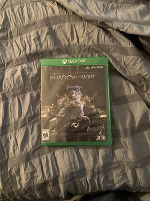 Shadow of War Xbox One Game for Sale in Fort McDowell, AZ
