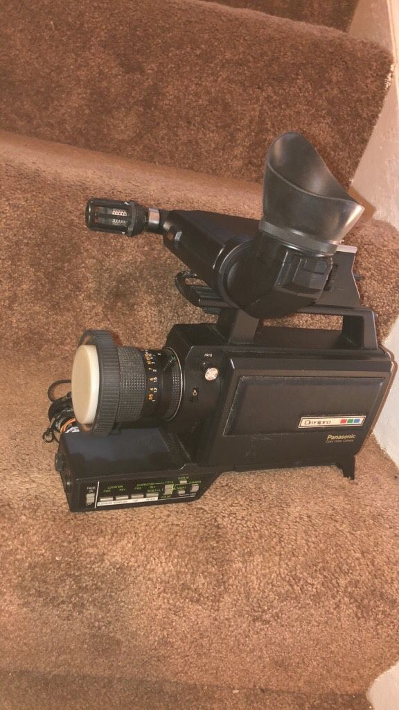 VINTAGE PANASONIC PK-957 NEWVICON OMNIPRO COLOR - VIDEO RECORDER