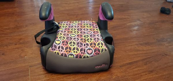 Amp no-back booster seat
