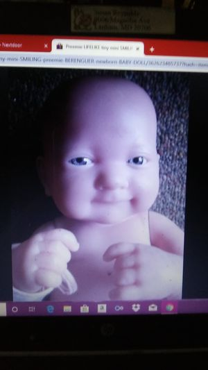Lifelike Newborn Baby Doll for Sale in New Carrollton, MD