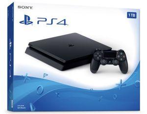 PS4 Slim 1TB W/2 Controllers for Sale in Hialeah, FL