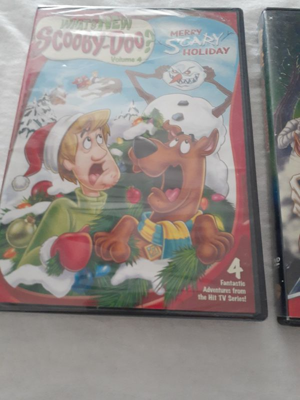 Scooby Doo DVDs.