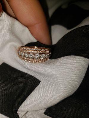 1ct diamond 10k gold wedding ring (zales) for Sale in Waycross, GA