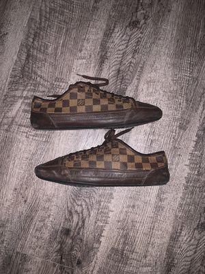 Louis Vuitton Broolyn Ebene Damier sneakers size 12 for Sale in Miami, FL