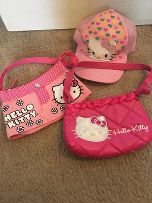 Girls hello kitty hat and purses for Sale in Hialeah, FL