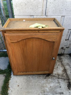 Natural wood cabinet for Sale in Norwalk, CA