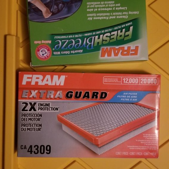 Nissan Altima 2006 Air Filters Cabin And Engine