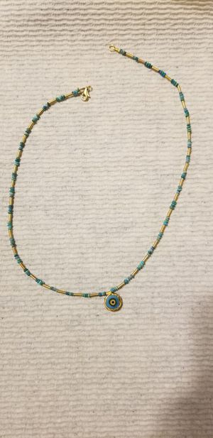 14 k gold bead necklace for Sale in East Haven, CT