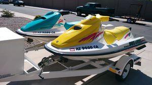 Seadoo Jet Skis and trailer for Sale in Buckeye, AZ