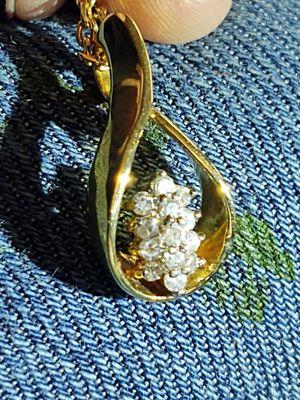 Diamond, teardrop Avon necklace for Sale in Canton, IL