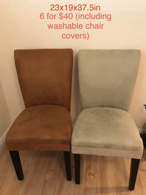 6 Parson Chairs for $40 for Sale in Chino, CA