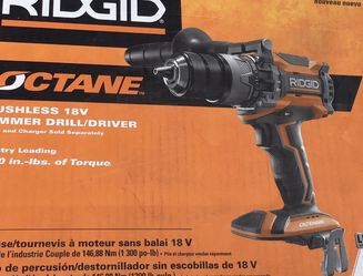 Ridgid 18v Brushless Hammer Drill New for Sale in Troutdale,  OR