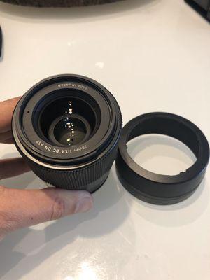 Sigma 30mm f1.4 E mount lens for Sale in Miami, FL