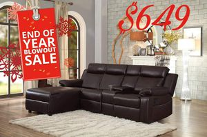 Recliner Sectional for Sale in Dallas, TX