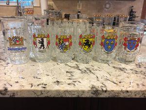 6 mugs 4 are Fi.Ye Vintage Fi.Ye Italian Beer Steins, for Sale in Fairfax Station, VA