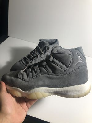 Nike air Jordan 11 pinnacle grey no box 9/10 condition size 9.5 for Sale in Bellevue, WA