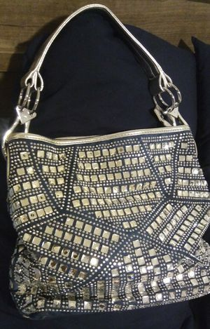 Blue/Silver Metallic & Denim Hobo bag for Sale in Owings Mills, MD