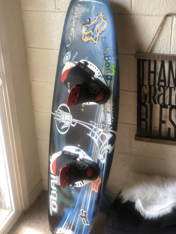 Freaking Sweet Pro O'BRIEN Wakeboard given by last years gold winner at Lake Havasu Board sells for $500 Asking 1/2