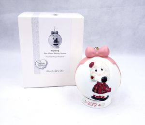 Precious Moments Heart Warming Christmas 2019 Dated Bisque Porcelain Ball 191003 for Sale in Humble, TX