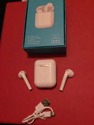 android and iphone earbuds touch screen new 20$ w mic to talk for Sale in San Bernardino, CA