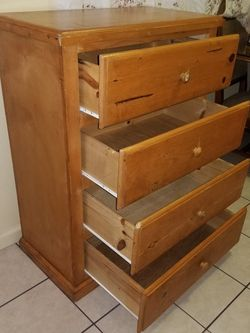 """Wooden dresser (41"""" Tall) for Sale in South Gate,  CA"""