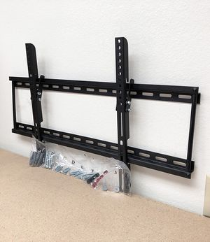 """(NEW) $15 Tilt 32""""-65"""" TV Wall Mount Television Bracket 15 Degree Up/Down Slim for Sale in Montebello, CA"""