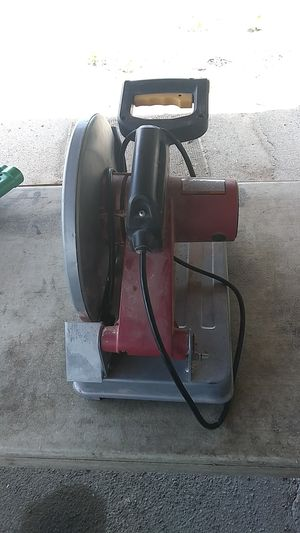 Chicago Electric Cut Off Saw with Diamond 14 inch blade for Sale in Farmington Hills, MI