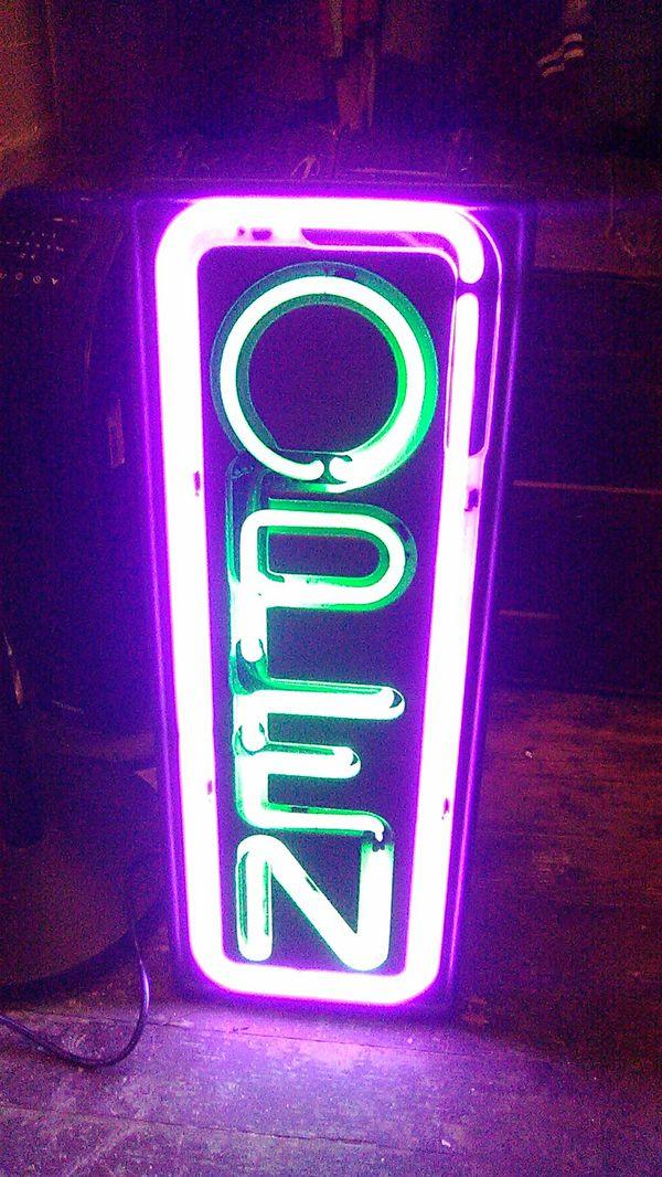 Fallon electric open sign