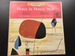 1957 Vintage Record Dance in Dorsey Style Album LP (Classic Orchestra, Swing Music) for Sale in Pasadena, CA