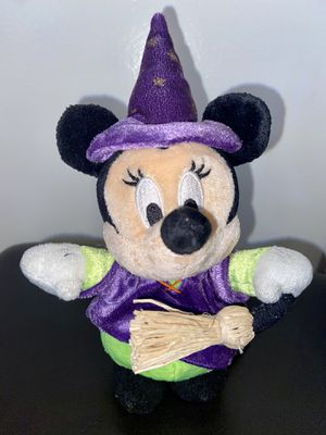 "Disney store Minnie Mouse plush As Halloween Witch 9"" for Sale in Lakewood, CA"