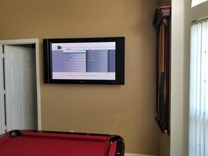 50 inch tv PERFECT FOR GAME ROOM for Sale in Port St. Lucie, FL