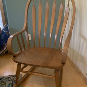 Wooden Rocking Chair for Sale in Kirkland, WA