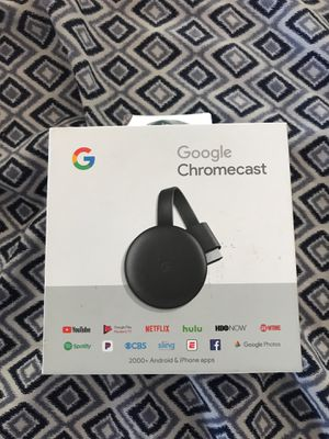 Brand new google chromecast for Sale in Apple Valley, CA