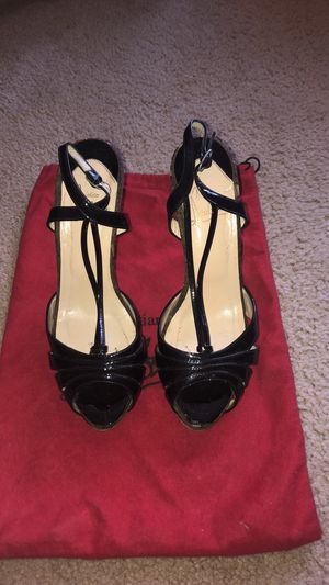 Christian Louboutin black patent leather heels for Sale in Friendswood, TX