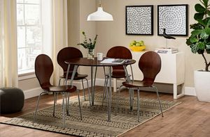 Large Round Dining Table Brown for Sale in Tucson, AZ