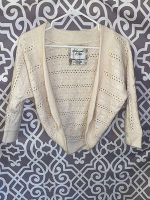 XS Knit Abercrombie & Fitch Cardigan Sweater Dress Cover Spring Kawaii for Sale in Lake Forest, CA