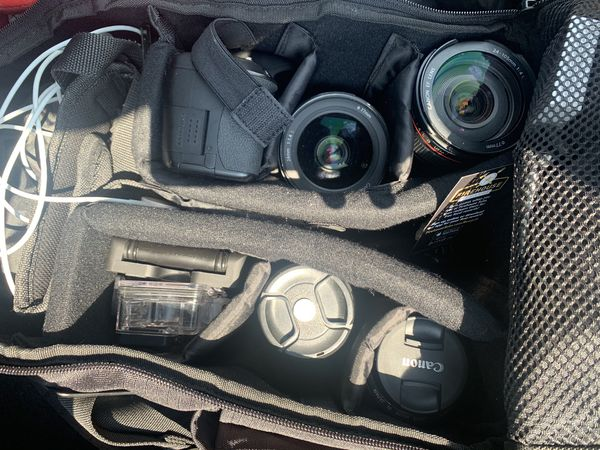Camera, GoPro, and Gear