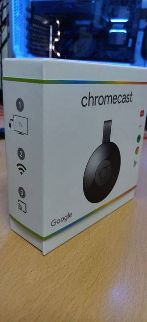 New in box Chromecast 2nd Gen for Sale in Downey, CA