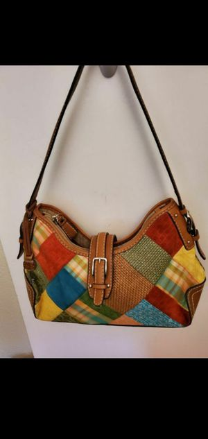 Fossil vintage patchwork hobo bag,very good condition for Sale in Round Rock, TX