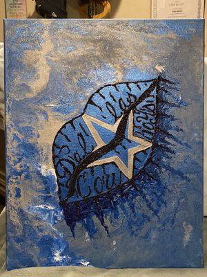 Dallas cowboy painting for Sale in Chandler, AZ