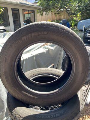 3)195/65/15 Michelin Defender Tires DOT 36/2018 for Sale in Palm Harbor, FL