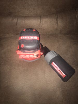 Craftsman 20 volt cordless sander (tool only) for Sale in Clayton, NC