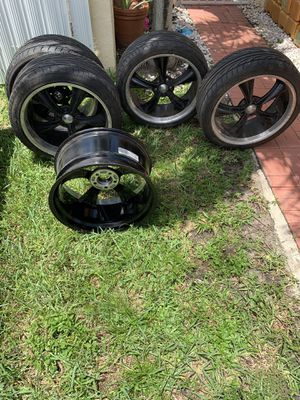 "20"" Bullet Rims and Tires for Sale in Miami, FL"