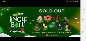 Kiss FM Jingle Ball tickets for Sale in Chino Hills, CA