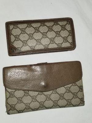 Vintage Gucci wallet set for Sale in Arlington, TX