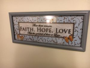 Wall Hanging, Inspirational Message for Sale in Tennerton, WV