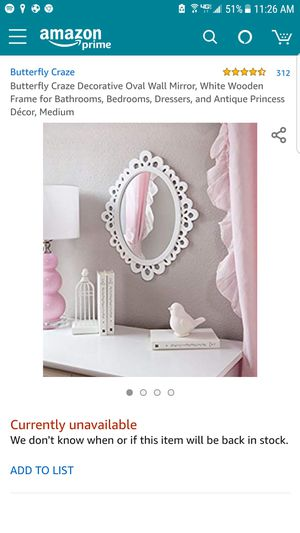 Oval Wall Mirror for Sale in San Diego, CA