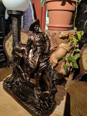 The Vision vintage lamp bronze color for Sale in Tucson, AZ