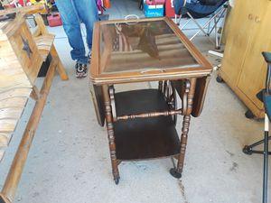 Antique rolling butler table for Sale in Salt Lake City, UT