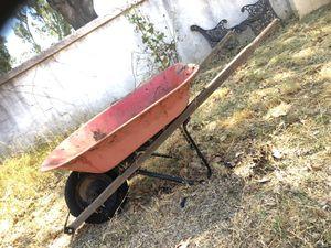 Vintage red wheelbarrow planter for Sale in Fontana, CA